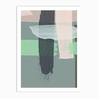 Wickerwork No 1 Art Print