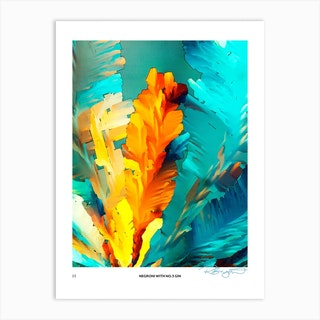 No 3 Perfection Prints Negroni Art Print