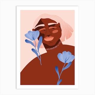 Vulnerability Art Print
