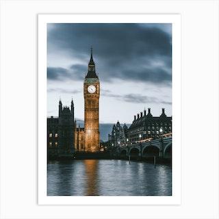 London UK V Art Print
