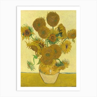 Sunflowers, Vincent van Gogh Art Print