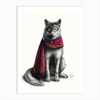 Wolf Prince Art Print