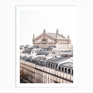 Paris Opera View Art Print