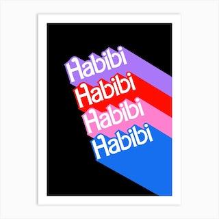 Barbie Habibi Art Print