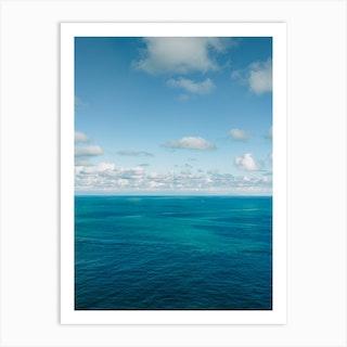 Amalfi Coast Water Xviii Art Print
