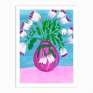 Hey Audrey Art Print