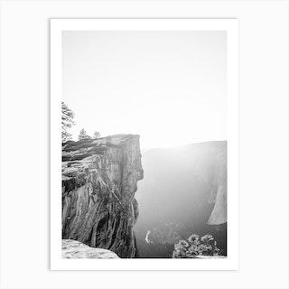 Yosemite Taft Point Art Print
