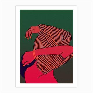 On Off Art Print