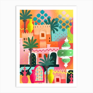 Morocco Afternoon Art Print