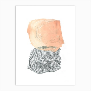 Paint And Wool Art Print