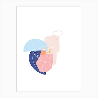 In Thought Art Print