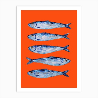 Sardines Art Print