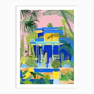 Jardon Majorelle Art Print