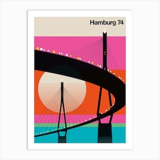 Hamburg 74 Art Print