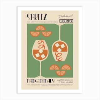 The Spritz Art Print