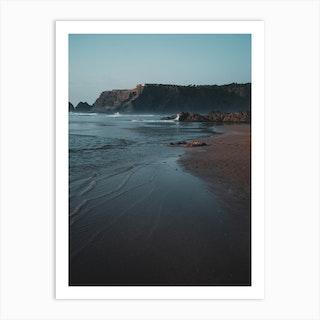 Waves At The Beach Art Print