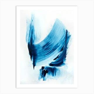 Royal Blue 3 Art Print