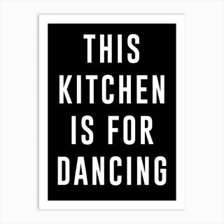 Dance Kitchen Art Print