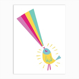 Sing A Rainbow Art Print