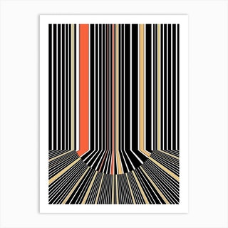 Vibration Falls Art Print