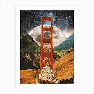 Bridge To The Future Art Print