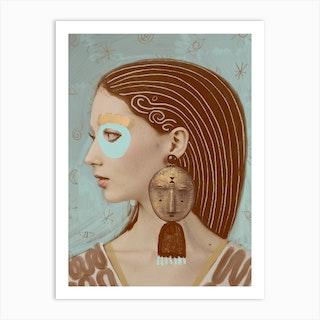 Ancient Wisdom Art Print