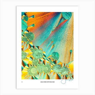 No 3 Perfection Prints Gin & Tonic Art Print
