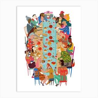 Chosen Family Art Print
