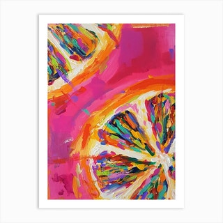Orange Slices Art Print