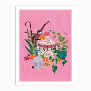 Moroccan Reverie Art Print