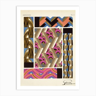 Plate 15 from 'Inspirations', Andre Garcelon Art Print