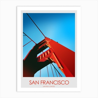 San Francisco California  Art Print