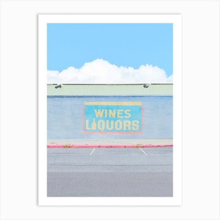 Clouds And Wine Art Print