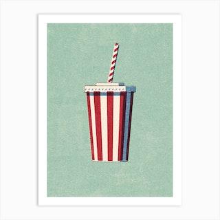 Fast Food Softdrink Art Print