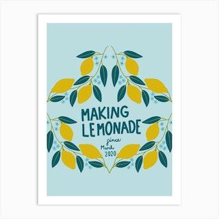 Making Lemonade Art Print