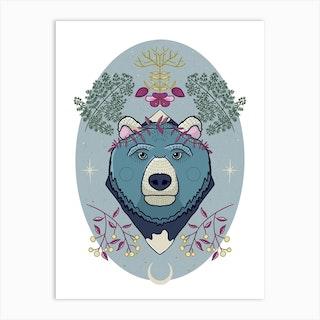 Ursa The Mother Bear Art Print