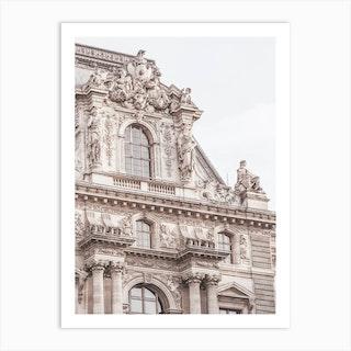 Paris Building Detail Art Print