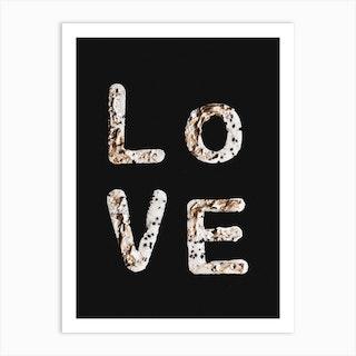 Love 2 Art Print