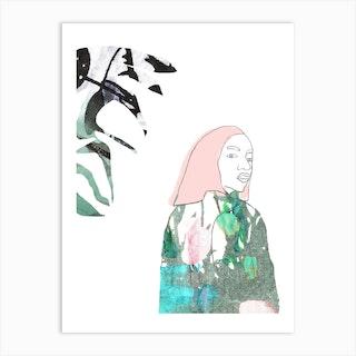 Jacquard Iife Art Print