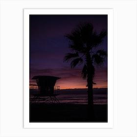 California Sunset Ii Art Print
