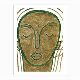 Looking Inward 2 Art Print