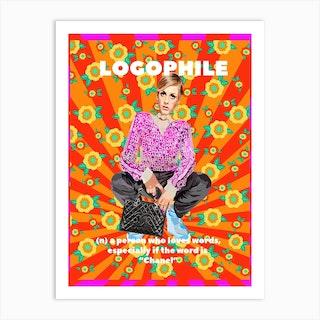 Logophile Art Print
