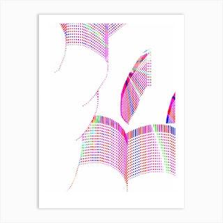 Cloud Spectrum Art Print