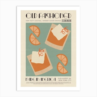 The Old Fashioned Art Print