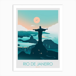 Rio De Janeiro Brazil  Art Print
