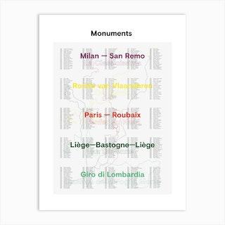 The Monuments 2019 01 Art Print