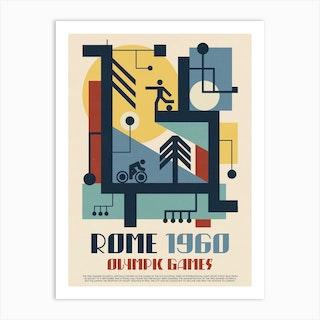 1960 Olympics Rome Art Print