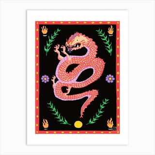 Original China Town Art Print