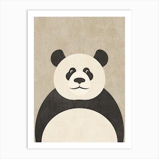 Fauna Panda Art Print