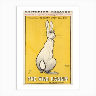 The Wild Rabbit Art Print
